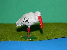 VINTAGE 1950 TIMPO Hollow CAST Painted lead ZOO SERIE Cicogna come Britains