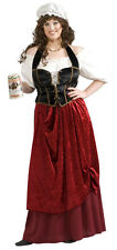 Womens Full 18-22 Plus Size Tavern Wench Adult Costume - Medieval or Renaissance