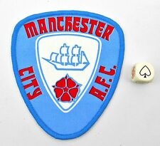 Manchester City Football Club Crest  Cloth Patch Badge Authentic Vintage 70s