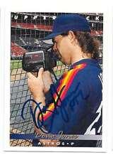 DOUG JONES 1993 UPPER DECK AUTOGRAPHED SIGNED # 171 ASTROS