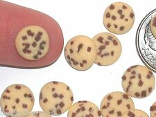 5pc miniature little dollhouse candy Christmas Chocolate chip cookies dough food