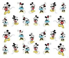 Nail Art Decals Transfers Stickers Mickey & Minnie Mouse (DA377)