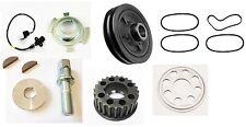 For Mitsubishi L200 K74 2.5TD 4D56 Crank Shaft Pulley + Belts & Sensor Kit 2001+