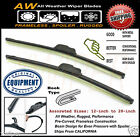 Ford E 150 250 350 450 Direct OE Replacement Premium ALL Weather Wiper Blades