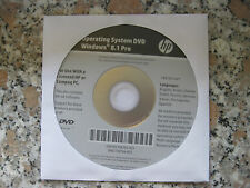 HP Windows 8.1 Professional 64 Bit Operating System Recovery DVD NEU