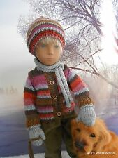 NEW HAND KNITTED OUTFIT FOR SASHA/GREGOR DOLL by Alicewhitewings