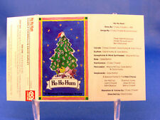 CHARLY CHIARELLI & DAVID HURLEY - Ho Ho Hum - 1990 VG++ CASSETTE - KINGSTON ONT.