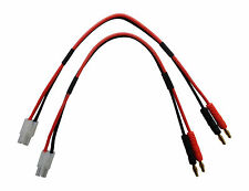 Apex RC Products Tamiya Style -  4mm Banana Battery Charge Leads - 2 Pack #1402