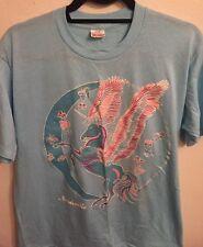 Vintage Unicorn Pegasus T-shirt Glitter Sparkle T Shirt Size L As Is