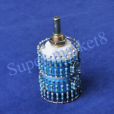 4pole 24 Step Attenuator Volume Control Pot Log A 10K 10KA Stereo Potentiometer