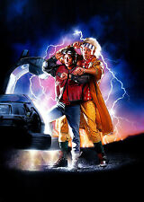 RITORNO AL FUTURO BACK TO THE FUTURE MANIFESTO DREW STRUZAN SPIELBERG FOX LLOYD