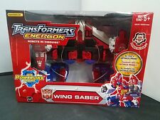 Hasbro 2004 Transformers Energon NISB Brand New Wing Saber Powerlinx Sealed