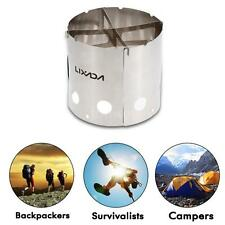Portable Wood Stove Alcohol Stove Cooking Picnic Outdoor Camping Stainless L2S7