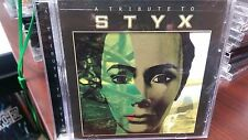 A Tribute to Styx  Cd Grand Illusion Mr Roboto Come Sail Away Renegade Lady Babe