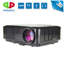 LCD Video Movie Projector 3500 Lumens HDMI Games Home Theater TV Computer PS4