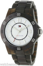 Tommy Hilfiger 1781075 Sport White Dial Plastic Band Women's Watch