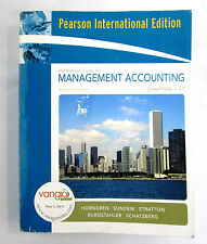 Introduction To Management Accounting Chapter 1-17 Pearson International Edition