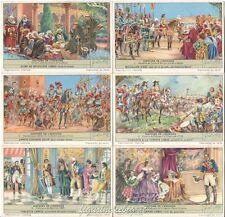 Chromo Liebig Sang. 1658 BEL Storia della Spagna ANNO 1956