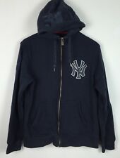 VINTAGE RETRO NIKE NEW YORK YANKEES EMPIRE STATE SPORT HOODIE JUMPER UK S/M