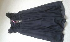 LADIES BNWT YUMI BLACK SLEEVELESS DRESS SIZE M