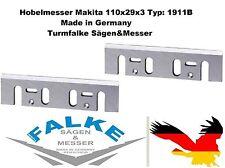 2 Stück Hobelmesser Makita 110x29x3 Typ: 1911B