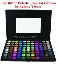 88 Cosmetics  Makeup PRO GLITTER Eyeshadow PALETTE Beauty Treats-Special Edition