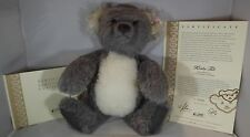 "STEIFF 16"" KOALA TED TEDDY BEAR ALPACA MOHAIR LTD. ED. WITH CERTIFICATE"