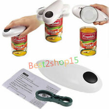 New One Touch Automatic Can Jar Opener Tin Open Tool Cordless Battery Operated
