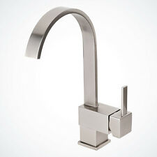 "NEW 12 ½"" Brushed Nickel Kitchen Bathroom Faucet Vessel Sink Basin Swivel Spout"