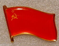 RED FLAG USSR SOVIET UNION CCCP PIN BADGE