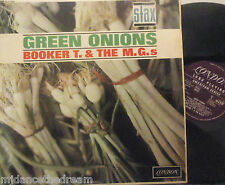 BOOKER T & THE MGS ~ Green Onions ~ VINYL LP - LONDON/PLUM MONO