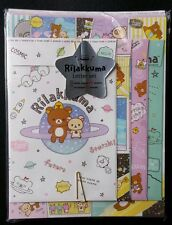 RARE San-x Rilakkuma Kawaii Letter Set Space Galaxy Cosmic Stationery Lot Japan