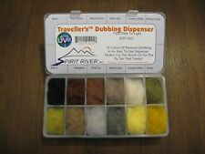 Fly Tying Spirit River UV2 Dry Fly Dubbing Dark to Light