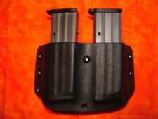 HOLSTER DOUBLE MAG BLACK KYDEX Kel-Tec PMR-30 PMR 30 OWB