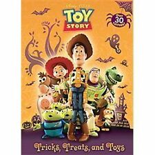 Tricks, Treats, and Toys (DisneyPixar Toy Story) (Color Plus Tattoos)