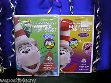 The Wubbulous World of Dr Seuss Dvds Brand New - 2 Dvd Set The Cat in the Hat