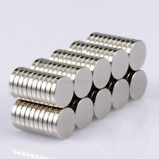 100pcs Round Cylinder Disc Magnets N50 Rare Earth Neodymium 10x2mm Super Strong