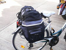 Triple bicycle panniers **Reduced to clear, low stock**