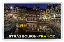 STRASBOURG FRANCE MOD6 FRIDGE MAGNET SOUVENIR IMAN NEVERA