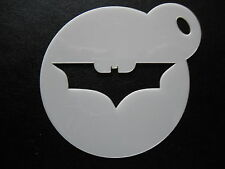 Laser cut small batman 1 design cake,cookie, face painting &craft stencil