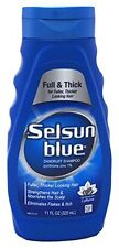 3 Pack Selsun Blue® Full & Thick Dandruff Shampoo 11 Fl Oz / 325 mL Each