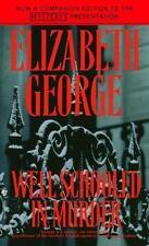 BUY 2 GET 1 FREE  Well-Schooled in Murder by Elizabeth George (1991, Paperback)
