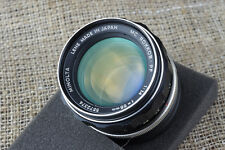 Minolta 58mm 85mm f/1.4 Lens ADAPTED for Canon EOS EF M M2 M3 camera body