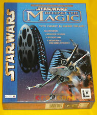 STAR WARS BEHIND THE MAGIC Pc Versione Ufficiale Italiana Big Box »»»»» COMPLETO