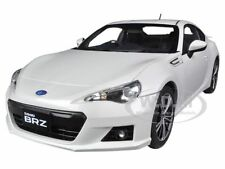 SUBARU BR-Z WHITE 1/18 DIECAST CAR MODEL BY AUTOART 78693