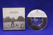 GEORGE HARRISON  ALL THINGS MUST PASS REEL TO REEL TAPE 3 3/4 ips RARE Excellent
