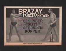 MÜNCHEN, Werbung 1908, Brazay Franzbranntwein