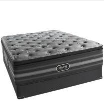 """Beautyrest Black"""" Suri""""  Plush Pillow Top Queen Mattress Set"""