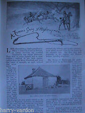 Highwaymen Robbery Dunsdon Family Wychwood Burford Gallows Rare Old Article 1899