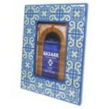 Blue Moroccan Inspired Table Frame (4X6)